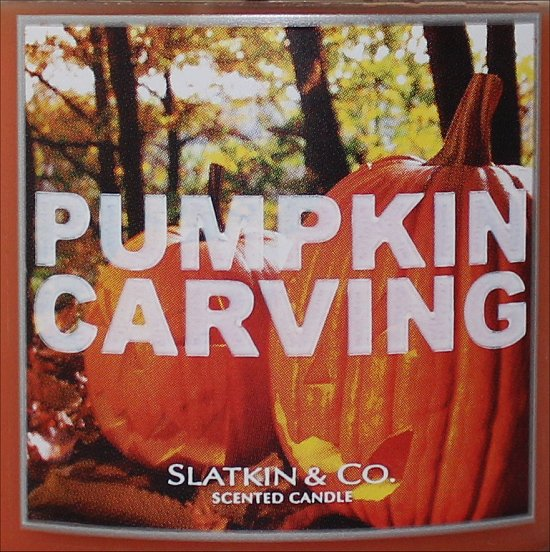 Slatkin & Co. Pumpkin Carving Review & Pictures Bath & Body Works