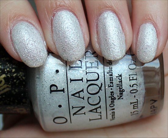 Solitaire OPI Bond Girls Collection Swatches, Swatch & Review