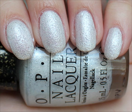 Solitaire OPI Bond Girls Swatches, Swatch & Photos