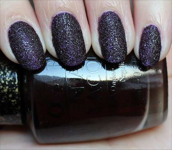 Vesper OPI Bond Girls Collection Swatches