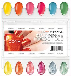 Zoya Stunning & Irresistible Collection Press Release & Promo Pictures