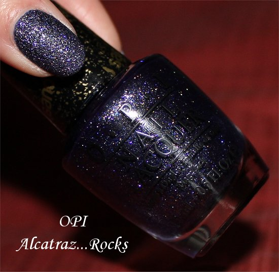 Alcatraz...Rocks OPI San Francisco Collection Swatches