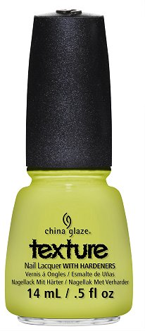 China Glaze In The Rough Texture Collection Press Release & Promo Pictures