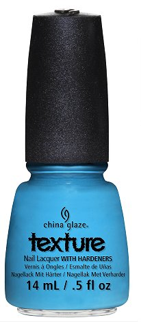 China Glaze Of Coarse Texture Collection Press Release & Promo Pictures