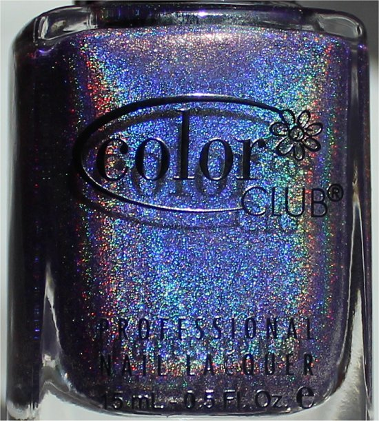 Color Club Halo Hues 2013 Eternal Beauty Purple Holographic Nail Polish