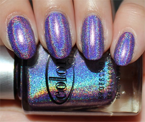 Color Club Halo Hues Eternal Beauty Swatch & Review