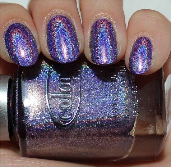 Color Club Purple Holo Halo Hues Eternal Beauty Swatch
