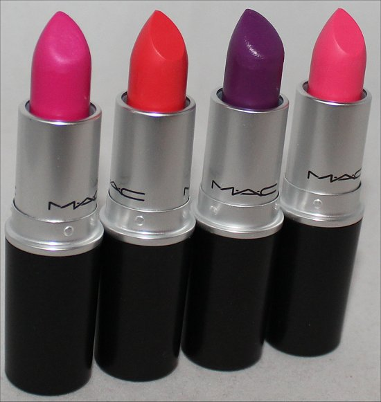 MAC Fashion Sets Haul, Photos & Pictures Embrace Me, Ablaze, Heroine & Silly Lipsticks