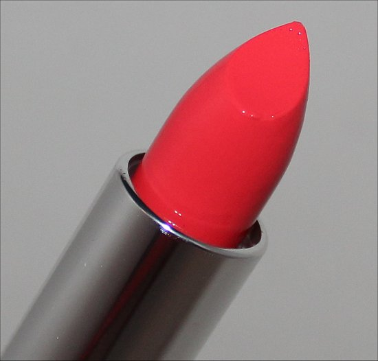 Maybelline Color Sensational Vivids Shocking Coral Swatches, Review & Photos