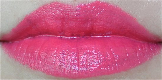 Maybelline Vivids Shocking Coral Swatches & Review