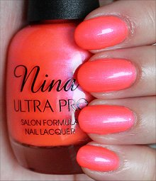 Nina Ultra Pro Pearly Brights Swatches & Review