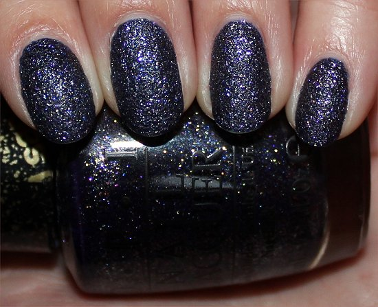 OPI Alcatraz Rocks Swatches San Francisco Liquid Sand