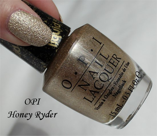 OPI Honey Ryder Bond Girls Collection Liquid Sand