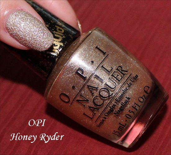 OPI Honey Ryder Review, Pictures & Photos