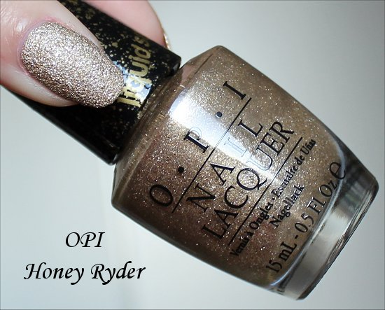 OPI Honey Ryder Review & Swatch