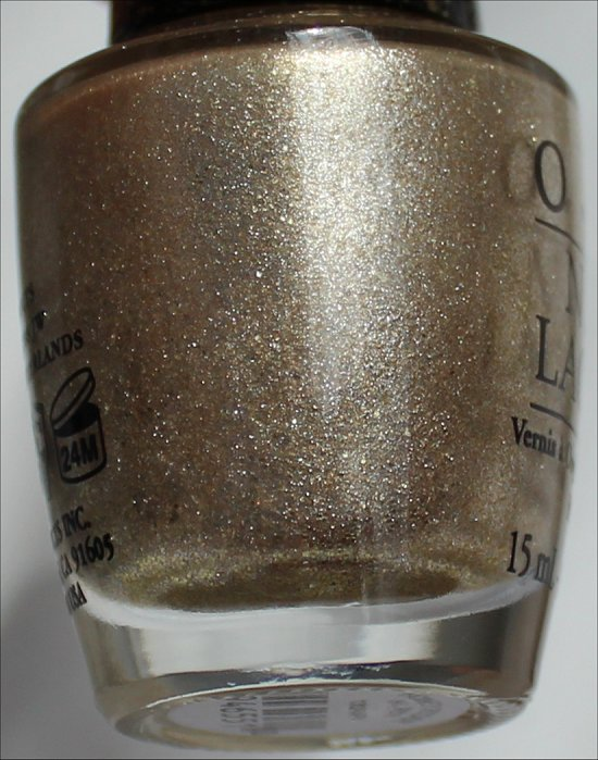 OPI Honey Ryder The Bond Girls Collection Liquid Sand