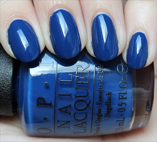 OPI San Francisco Collection Swatches Keeping Suzi at Bay Swatch