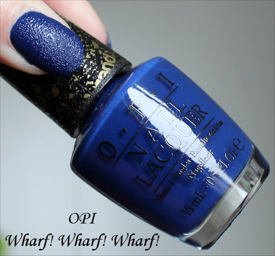 OPI Wharf! Wharf! Wharf! San Francisco Collection