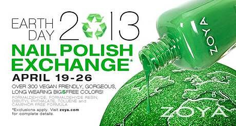 Zoya Earth Day Nail Polish Exchange 2013