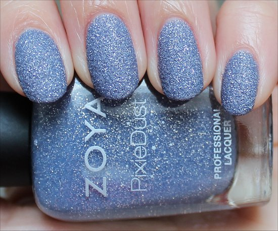 Zoya NYX PixieDust Swatch & Review