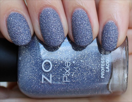 Zoya PixieDust NYX Swatch & Review