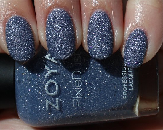 Zoya PixieDust Swatches NYX Swatch