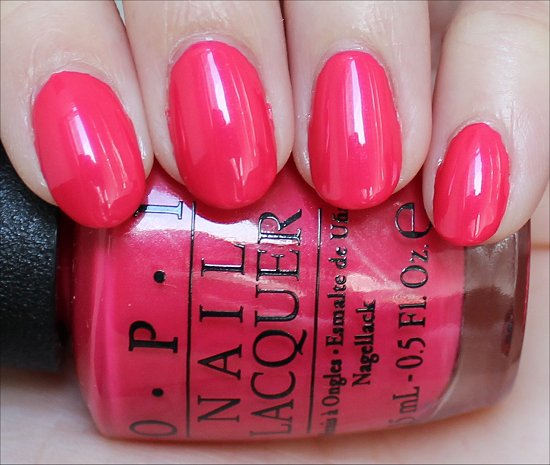 A Definite Moust-Have OPI Couture de Minnie Swatch