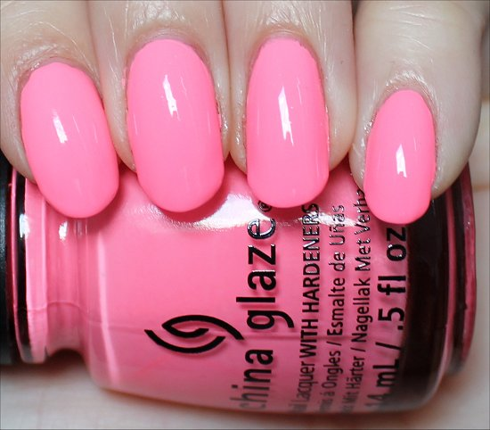 China Glaze Neon & On & On Review & Swatches