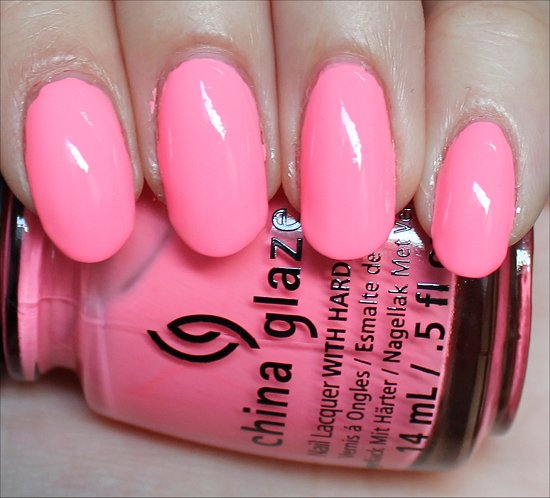 China Glaze Neon & On & On Swatch, Review & Pictures