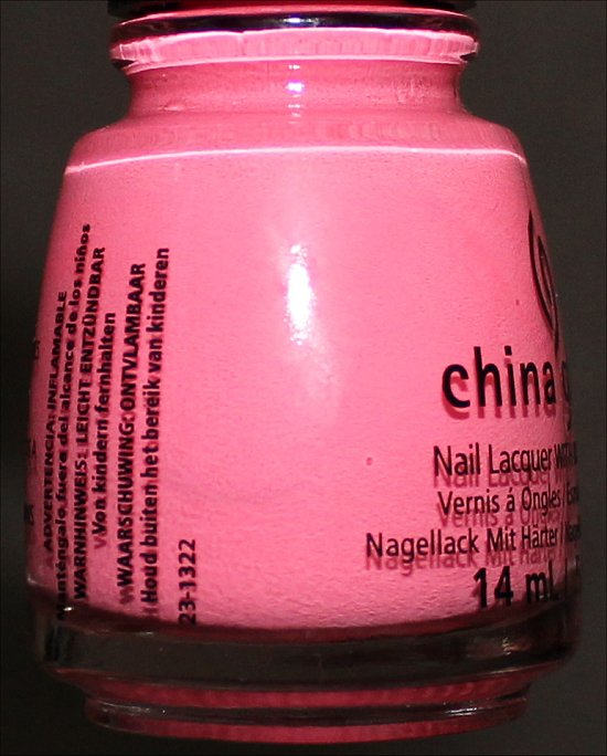 China Glaze Neon On On Swatch Sunsational Collection Swatches & Review