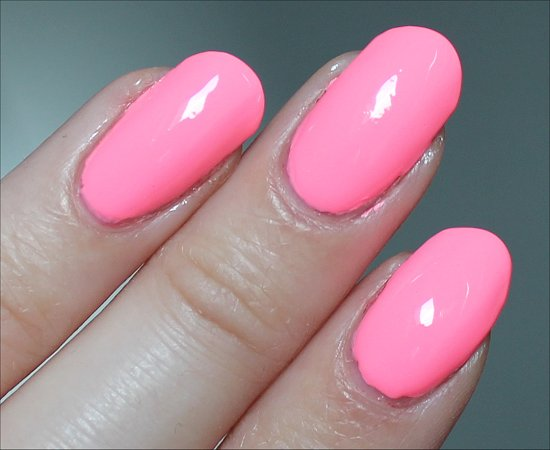 China Glaze Neon & On & On Swatch