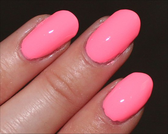 china glaze neon  u0026 on  u0026 on swatches  u0026 review