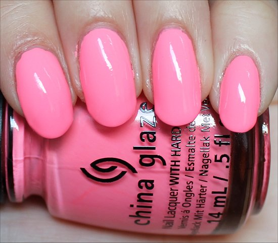 China Glaze Neon & On & On Swatches, Review & Pictures