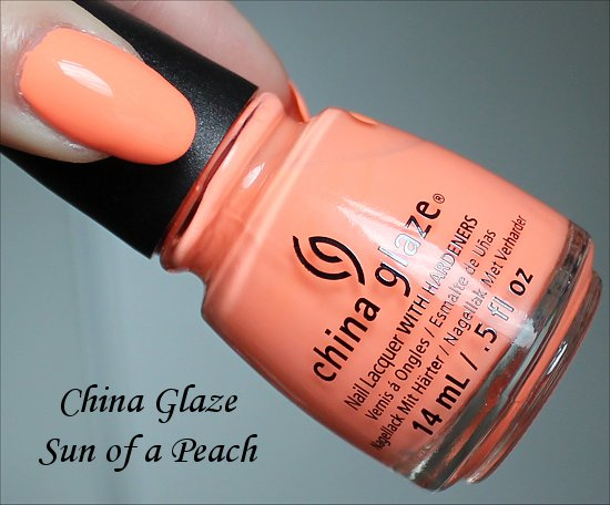 China Glaze Sun of a Peach China Glaze Sunsational Collection