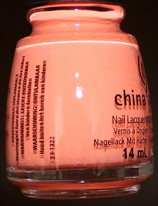 China Glaze Sun of a Peach Review Sunsational Collection