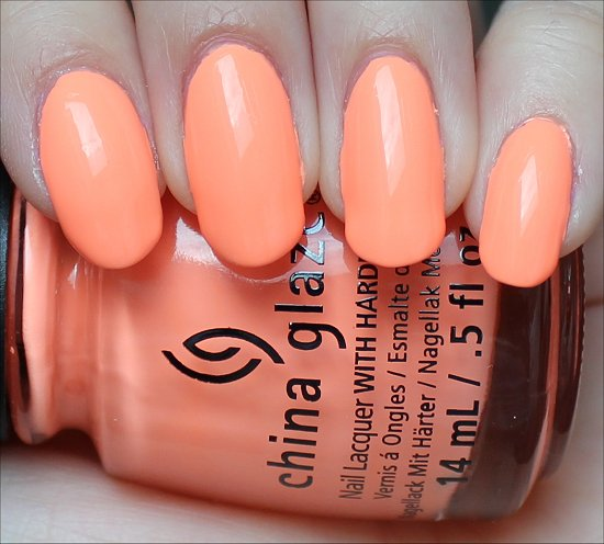China Glaze Sun of a Peach Review & Swatch