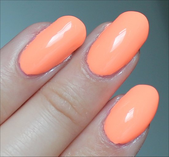 China Glaze Sun of a Peach Swatch