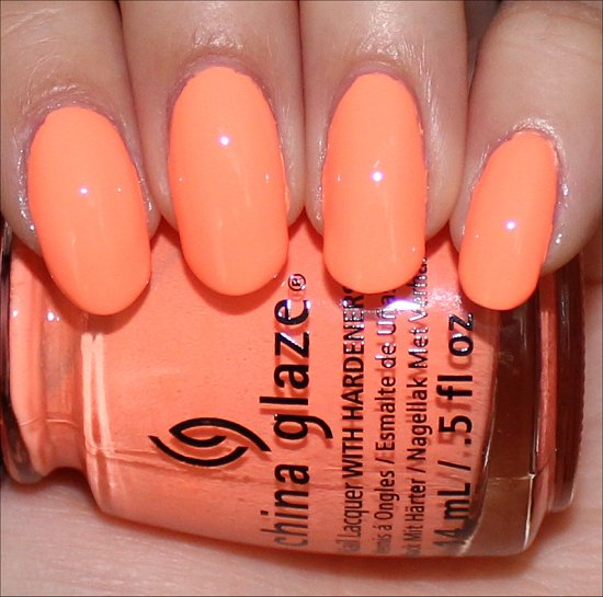 China Glaze Sun of a Peach Swatches Sunsational Swatch