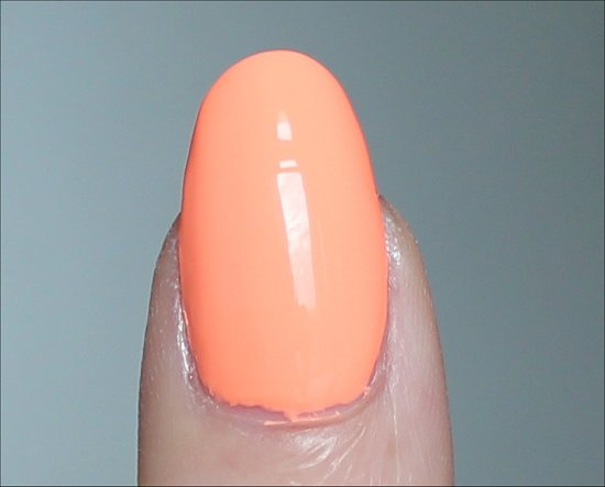 China Glaze Sun of a Peach Swatches
