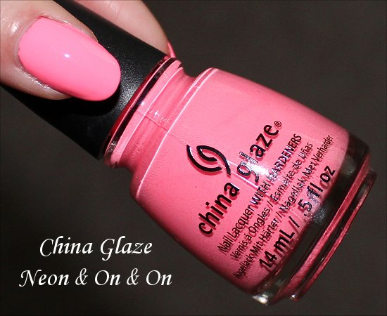 China Glaze Sunsational Collection Neon & On & On