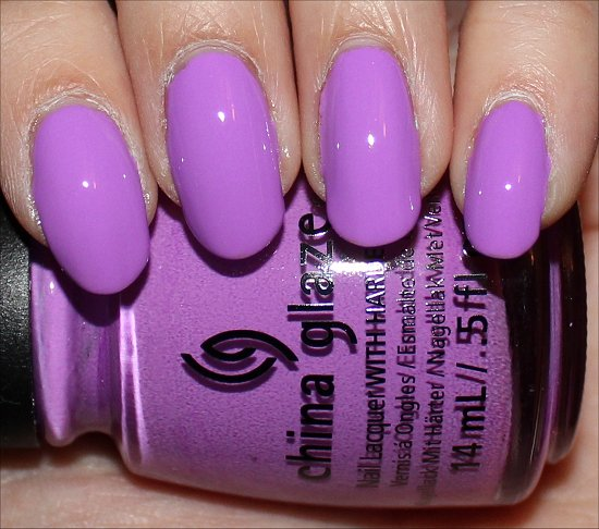 China Glaze Sunsational Collection Swatches That's Shore Bright Swatch