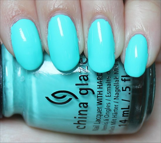 China Glaze Sunsational Collection Too Yacht to Handle Swatch