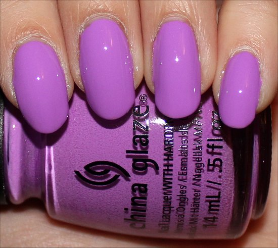China Glaze Sunsational Swatches That's Shore Bright Swatch