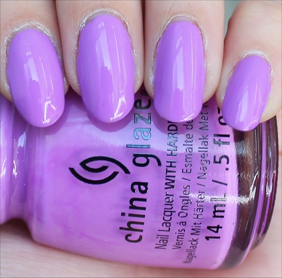 China Glaze That's Shore Bright Pictures Swatches