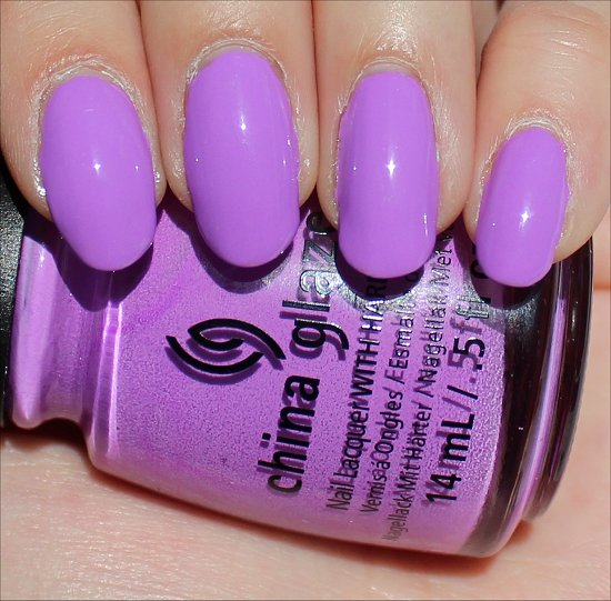 China Glaze That's Shore Bright Review & Swatches