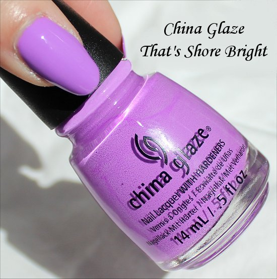 China Glaze That's Shore Bright Sunsational Collection Pictures