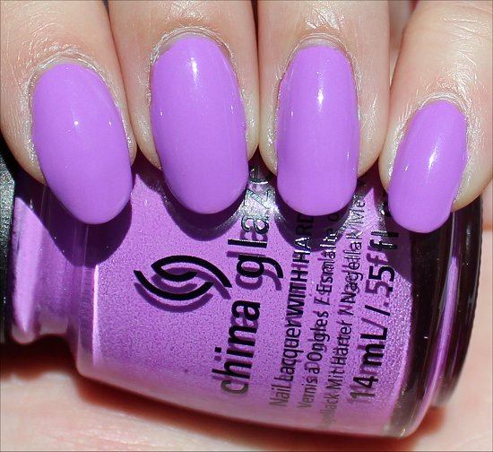 China Glaze That's Shore Bright Sunsational Collection Swatch