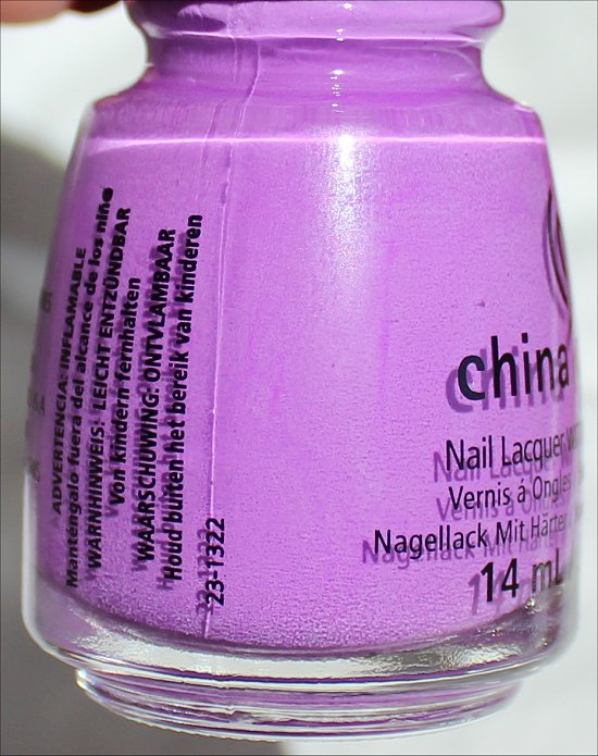 China Glaze That's Shore Bright Sunsational