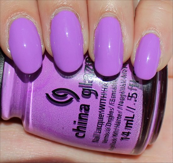 China Glaze That's Shore Bright Swatch & Review