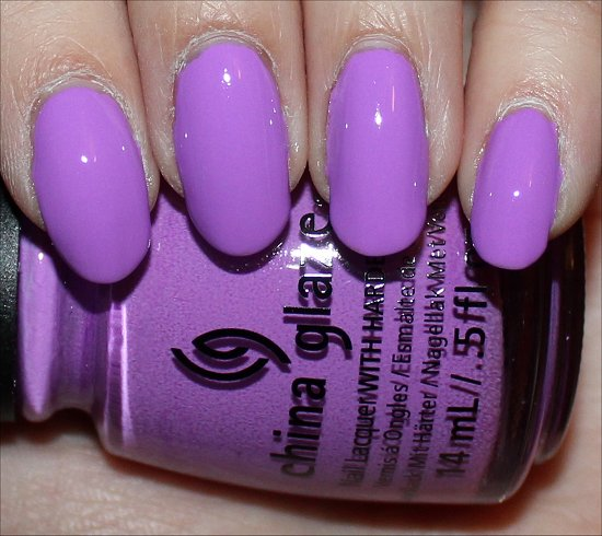 China Glaze That's Shore Bright Swatch Sunsational Swatches